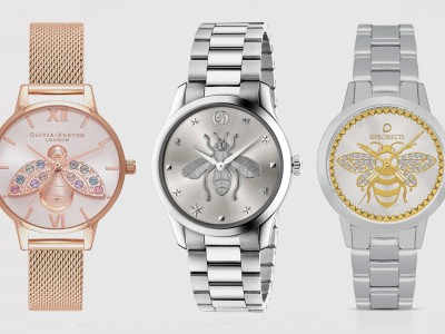 Bees: a decorative symbol for watches