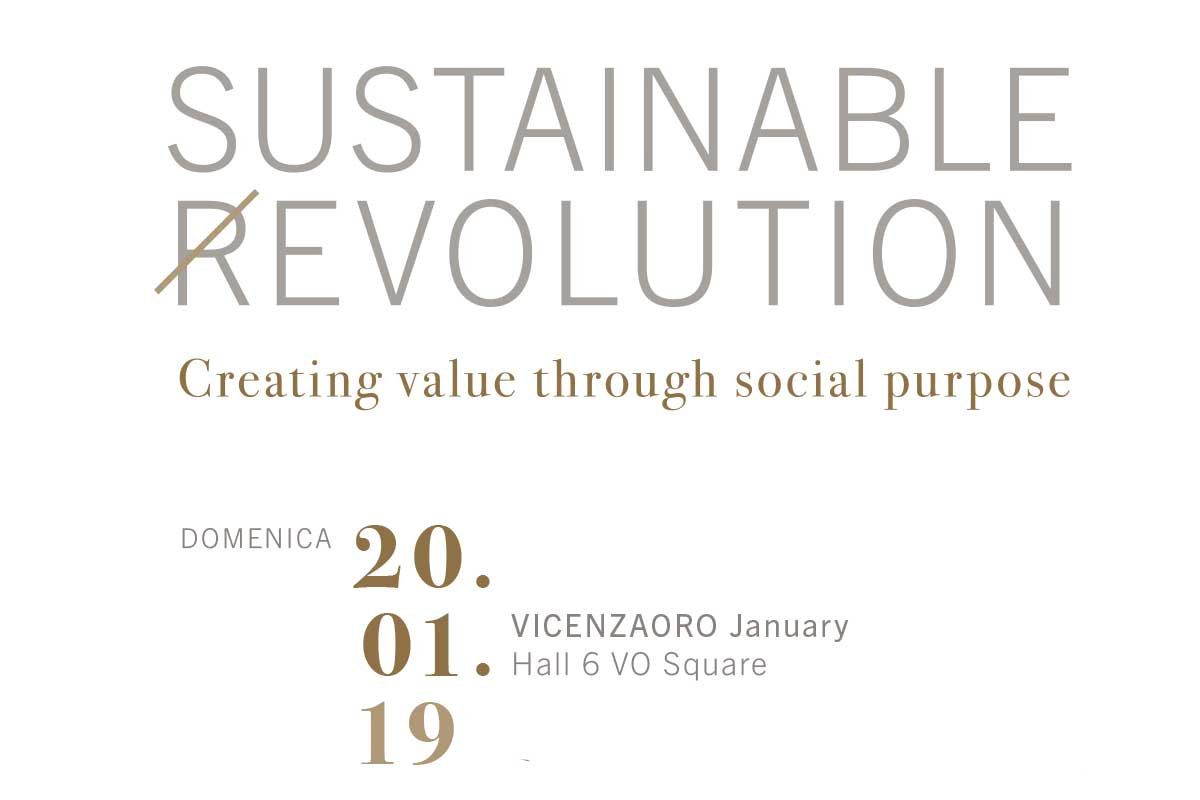 La Sustainable Revolution sbarca in Fiera a Vicenza