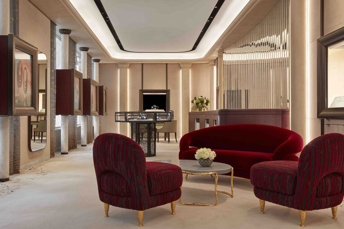 Fawaz Gruosi lands in London